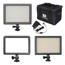 NANGUANG LED-Videoleuchten-Set MIXKIT 3: RGB 66 + Luxpad 23 + Mixpad 41