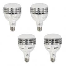 4x LIFE OF PHOTO High Power Leuchtmittel LED-Lampe 60 Watt 5400°K Fotolampe E27