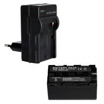 Akku und Ladegerät SET 770 für NANGUANG Videoleuchten