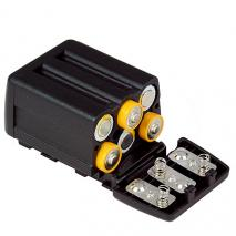 NANGUANG Batteriebehälter (für 6 x AA-LR6, 1,5 V) für LED-Videoleuchte