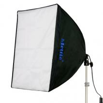 METTLE Daylight-Kit 105 mit Softbox 60x60 cm