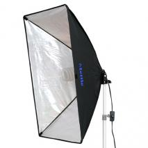 METTLE Daylight-Kit 85 (Tageslicht 5500°K) mit Softbox 50x70 cm