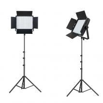 NANGUANG Bi-Color LED-Studioset DOMINO DUO 900 CSA