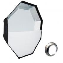 METTLE Easy-Setup Octagon Softbox, Ø 90 cm für BOWENS & METTLE