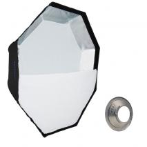 METTLE Easy-Setup Octagon Softbox, Ø 90 cm für BRONCOLOR IMPACT