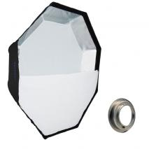 METTLE Easy-Setup Octagon Softbox, Ø 90 cm für BRONCOLOR PULSO