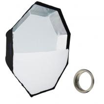 METTLE Easy-Setup Octagon Softbox, Ø 120 cm für MULTIBLITZ V