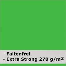 METTLE Faltenreduzierter Stoffhintergrund super strong, CHROMA KEY grün Greenscreen, 3x6 m