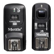 METTLE 4-in-1 Funkauslöser, Fernauslöser LUMOX 520 C1 für CANON 450D, 550D etc.