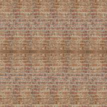 "Floor Drop Studio-Hintergrund & Boden ""Aged Bricks"" 2,4x2,4 m"