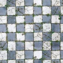 "Floor Drop Studio-Hintergrund & Boden ""Aged Pavers"" 2,4x2,4 m"