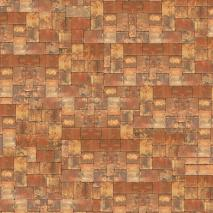 "Floor Drop Studio-Hintergrund & Boden ""Rustic Pavers"" 2,4x2,4 m"