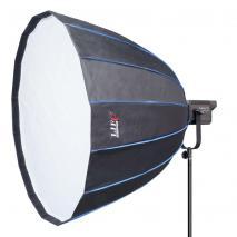 NANLITE LED Studioleuchte FORZA 300 mit Parabol-Softbox Ø 90 cm