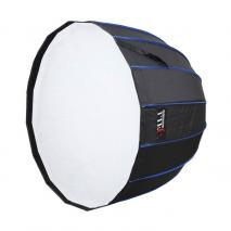LIFE of PHOTO Deep Para Softbox Ø 70 cm mit Grid für NANLITE FORZA 60, Parabol Form