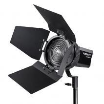 NANLITE LED Studioleuchte FORZA 60 mit Fresnel-Vorsatz FL-11 10-45°