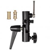 METTLE Gelenk-Schirmhalter M11-050A Schirmneiger mit Spigot-Aufnahme