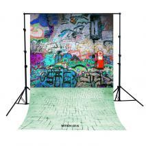 METTLE DIGITAL PRINT Kinder Motiv-Hintergrundstoff MTKH-016, 1,5 x 2,3 m