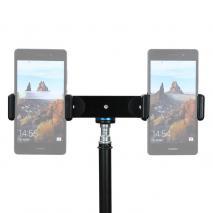 METTLE Universal Smartphone-, Handy-Doppelhalter mit Kugelkopf