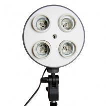 METTLE 4-in1 Lampenhalter SLH4 für E27