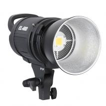 METTLE LED Studioleuchte EL-600, Power-LED Videoleuchte 6000 Lumen