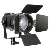 METTLE Mobiles Bi-Color LED-FRESNEL Leuchten SET MV-50DF