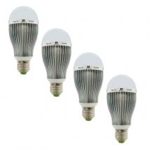 Set: 4x NANGUANG LED-Leuchtmittel CN-10, 10 W E27