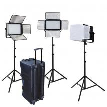 METTLE LED Studioset MATRIX VL-1200 mit Studio-Trolley