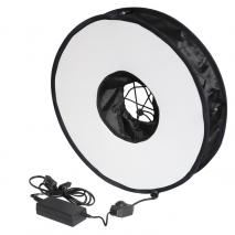LIFE of PHOTO dimmbares LED Ring Licht Ø 45 cm