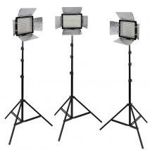 METTLE LED-Videoleuchten Set VL-3000