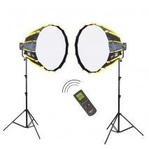 NANLITE LED-Studioset FS-2200 Wireless