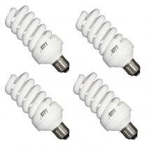 4x LIFE of PHOTO Leuchtmittel Tageslicht-Lampe 30 Watt 5400°K E27 Fotolampe