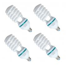 4x METTLE Leuchtmittel Tageslicht-Lampe 85 Watt 5500°K Fotolampe