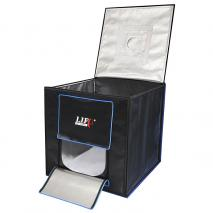LIFE of PHOTO Ministudio CUBE 70 mit intergrierter SMD LED-Beleuchtung