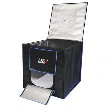 LED Lichtwürfel Mini Fotostudio Life of Photo CUBE LFV-770 70x70x70cm Leistung 65W Produktfotografie für Ebay / Amazon