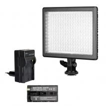 NANLITE MIXPAD 11 RGB COLOR Videoleuchte SET mit Li-Ion Akku + Ladegerät