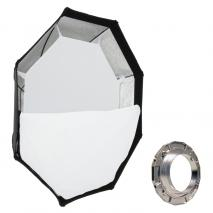 METTLE Octagon-Softbox Ø 140 cm für ELINCHROM
