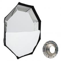 METTLE Octagon-Softbox Ø 95 cm für MULTIBLITZ P