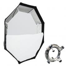 METTLE Octagon-Softbox Ø 95 cm mit UNIVERSAL-Adapter