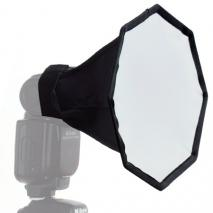 METTLE Mini Octagon-Softbox für Systemblitz Ø 20 cm