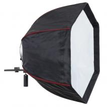 LIFE of PHOTO Easy Setup Para-Softbox Ø 60 cm mit Systemblitz-Halter