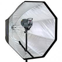 METTLE Reflexschirm-Octobox Ø 90 cm für Systemblitz, Studioblitz & Dauerlicht