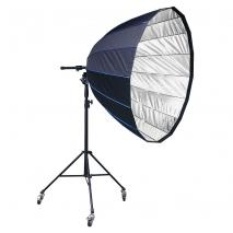 LIFE of PHOTO Para-Softbox Ø 90 cm mit Fokussiersystem & Stativ (Universal)