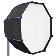 LIFE of PHOTO Systemblitz-Halter mit Parabol-Softbox 70 cm