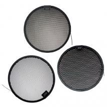 Rundwaben-Set für Standard-Reflektor und Telereflektor: 10°, 20°, 30°