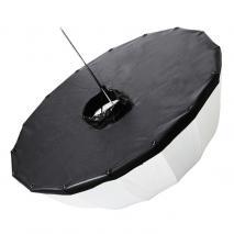 LIFE of PHOTO Zusatz-Reflektor silber für Parabol-Studioschirm Ø 85 cm, Schirmsoftbox