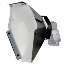 METTLE Sechseck-Softbox für Systemblitz  Ø 30,5 cm