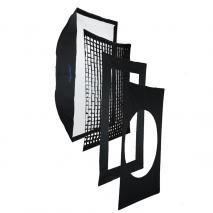 METTLE Profi-Softbox 80x120 cm für HENSEL