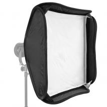 NANGUANG Softbox 60x60 cm für LED Fresnel Leuchte CN-30F