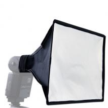 METTLE Mini-Softbox MF-230 für Systemblitze, 30x20 cm