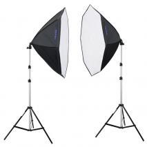 METTLE Studioset LED STARTER KIT 300 (8x18 W)